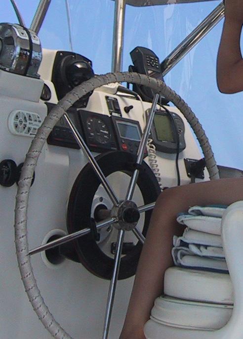 Boat Steering Wheel Coupler : How to make macrame whip sailboat steering wheel cover